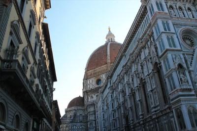 Glimpse of the dome