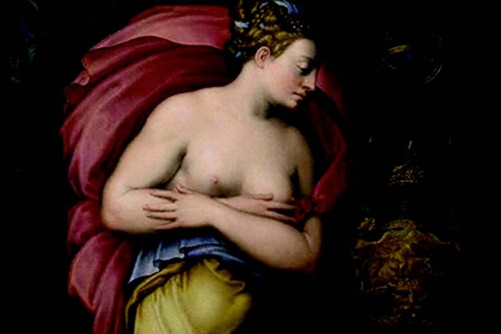 Allegory of Patience - Giorgio Vasari and Gaspar Becerra