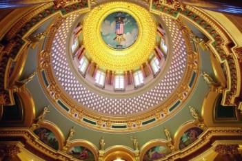 Giusto Manetti Battiloro for the Iowa State Capitol