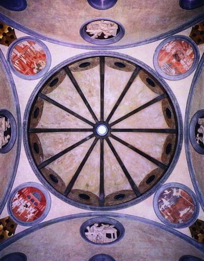 sacrestia vecchia san lorenzo -cupola