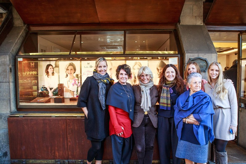 Susan Mariani, Elisa Tozzi Piccini, Donatella Carmi Bartolozzi, Cristina Giachi  Laura Piccini, Lucrezia Galli, Lucrezia Gondi