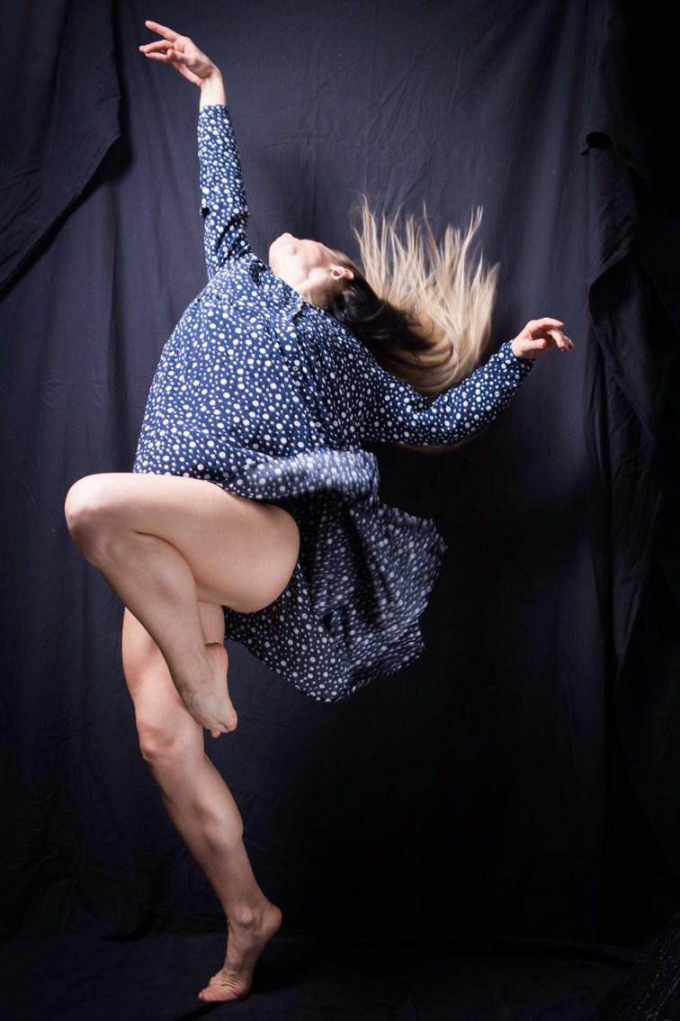 Fotografía estudio con movimiento