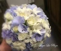 Ramo de novia azul. Floristería La Plaza en Cangas del Narcea Asturias. Flores bodas.