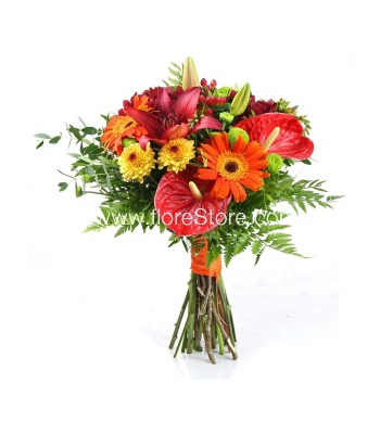 Ramo de flores alegres