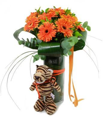 gerberas-naranjas-tigre