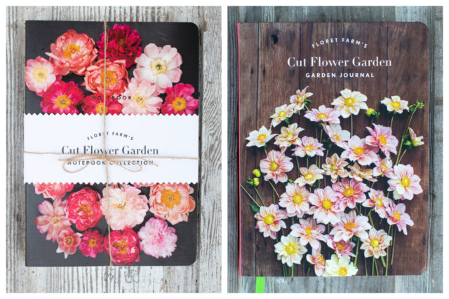Floret journal and notebooks