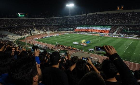Länderspiel Iran gegen Südkorea