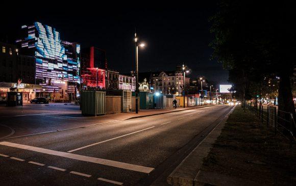 Reeperbahn während der Covid 19 Pandemie / Corona Hamburg