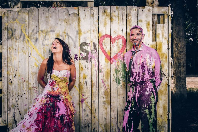 brautkleid-trash the dress