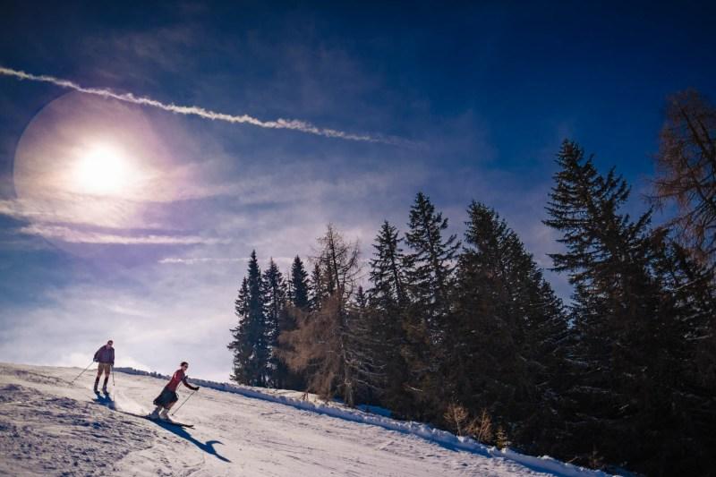 fotos gerlitzen-skifahren