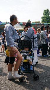 Schicke Mode beim Ueno Park Matsuri 2016.