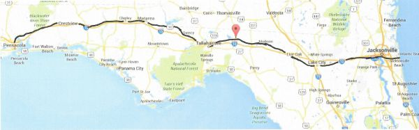Florida Best Driving Route