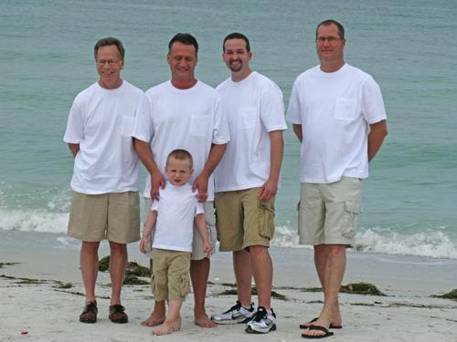 Groomsmen Khaki White Shirt And Shorts