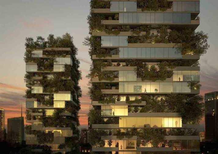 الغابات العمودية بمشروع ال بوسكو العاصمة الإدارية الجديدة il bosco new capital city (2)