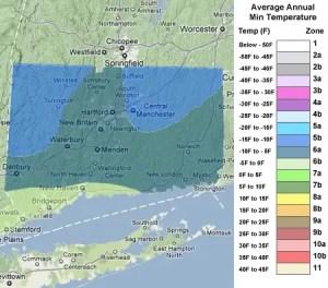 Connecticut Zones