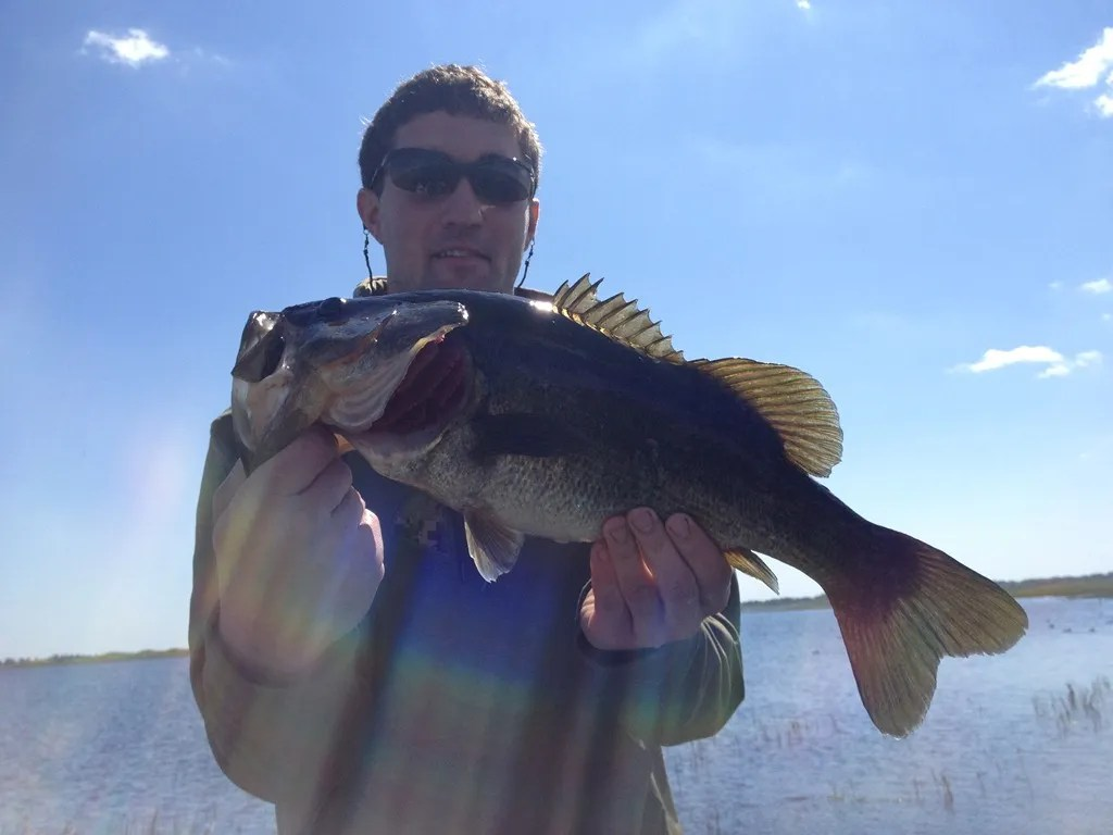 Bass fishing lake toho with capt john leech orlando for Florida bass fishing