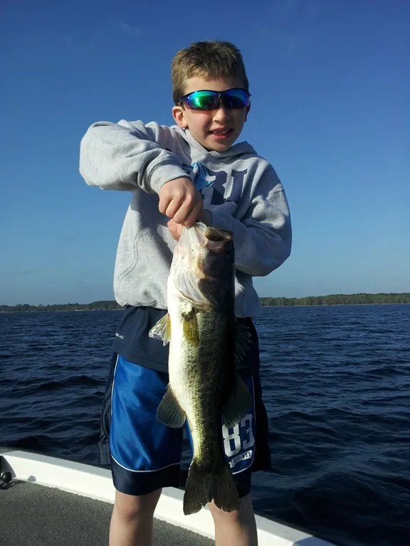 Father and son florida fishing trip orlando bass fishing for Florida bass fishing