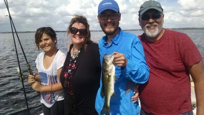 Wish Foundation Fishing Trip