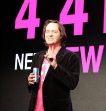 T-Mobile's John Legere at the T-Mobile Press Conference, CES 2014, Las Vegas  Photo: fanaticTRX/Wikimedia Commons