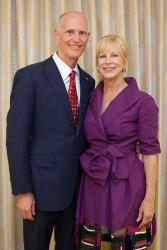 Gov. Scott and First Lady Ann Scott