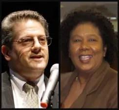 Broward Administrator Bertha Henry and attorney and FAU professor Frank Schnidman
