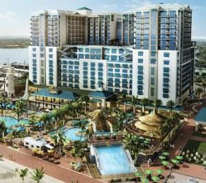 Rendering of Margaritaville Hollywood Beach Resort. Photo: City of Hollywood