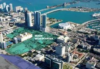 Miami World Center site.