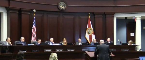 The Florida Commission on Ethics during a meeting last year.