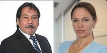 International Payout Systems CEO Edwin Gonzalez and COO Natalia Yenatska