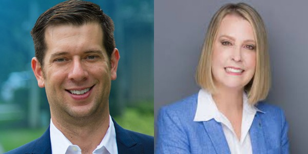State Attorney candidates Joshua Rydell and Sarahnell Murphy