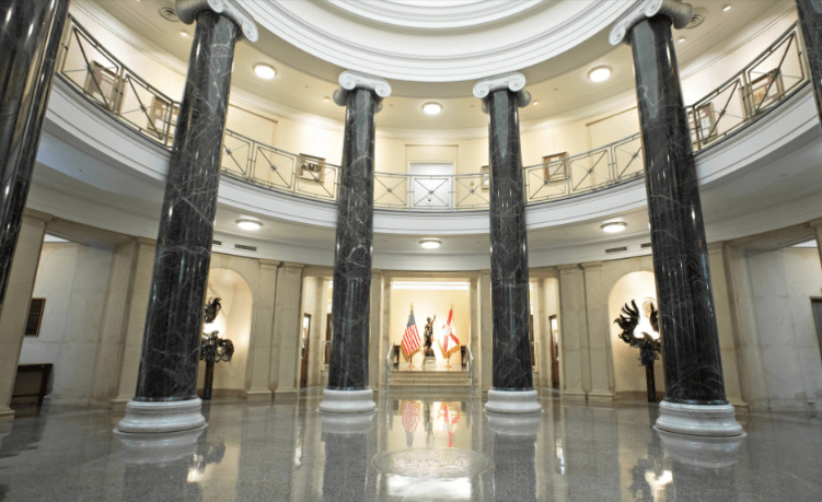 Florida Supreme Court rotunda