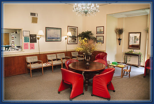 Lobby Florida Chiropractic Institute in St. Petersburg, Florida