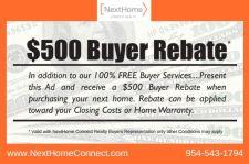 Buyer Rebate Condition