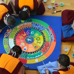 Sacred Art Tour of Tibetan Monks 2017