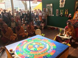 Dissolution Ceremony Tibetan Monks Florida CraftArt