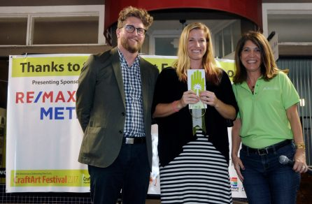 4. Regions Bank Award of Excellence TaylorRobenalt with Perry Price and Stacia Schrader