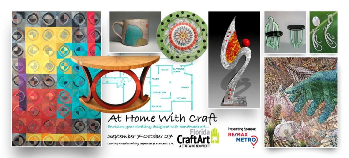 At Home With Craft interior design exhibition florida craftart