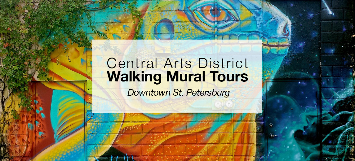 Walking Mural Tours in the Central Arts District