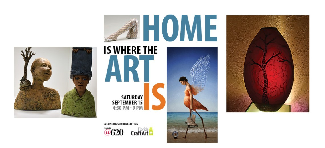 Home is where art is fundraiser