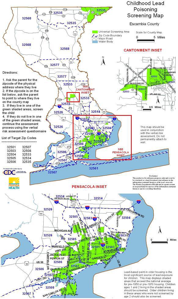 County Code Citrus Map Zip
