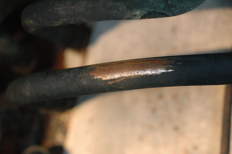 Pipe Corrosion Outside