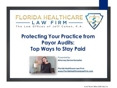 Protecting Your Practice from Payor Audits:  Top Ways to Stay Paid