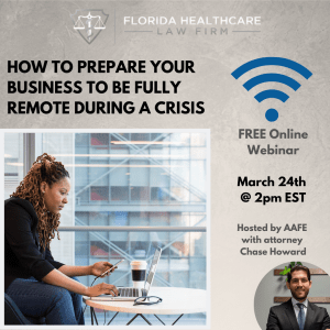 prepare your business to be fully remote online during a crisis like covid-19