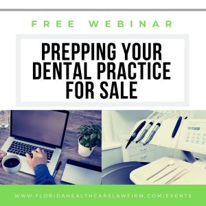 Prepping Your Dental Practice for Sale