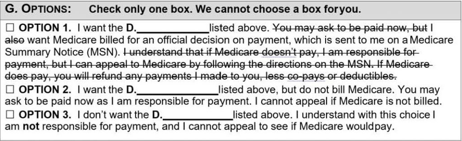 medicare outdated abn