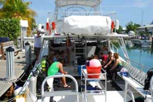 snorkeling boat