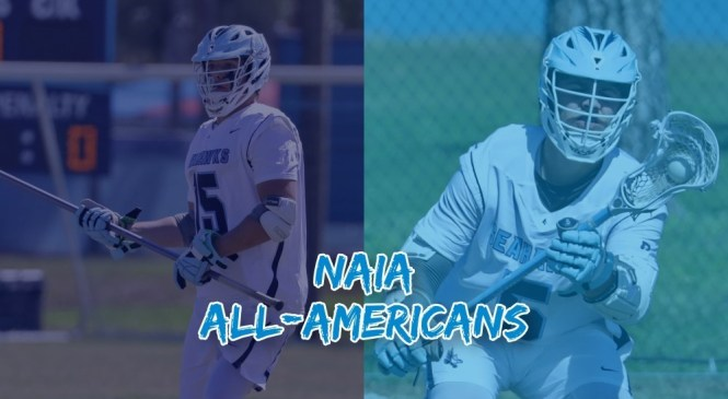 Keiser:  Men's Lacrosse Has Two NAIA All-Americans