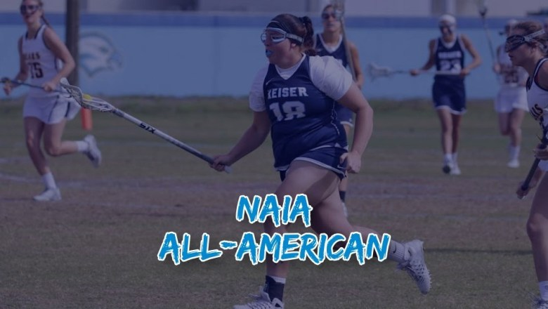 Keiser Women:  Sedar Named to NAIA All-American Squad