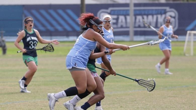 Keiser Women's Lacrosse Shutout Brenau 22-0