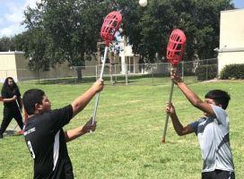 ATS – Collier Sports Insider's Story: Local Youths See Lacrosse's Softer Side During Clinic at Immokalee HS